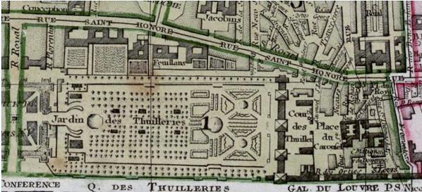 Section Tuileries Paris 1790 Geohistoricaldata Wiki